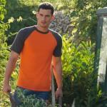 T-skjorte Fruit of the Loom Short Sleeve Baseball-T