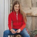 Jakke Fruit of the Loom 62-002 LadyFit Sweat Jacket