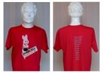 T-skjorte med motiv Duracell-jinte'n