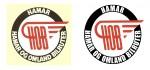 HOBs logo, før og etter vektorisering