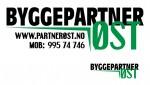 Logo i to versjoner for Byggepartner Øst