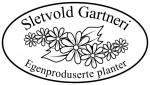 Logo for Sletvold Gartneri, Stavsjø