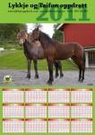 Kalender for kunde. Foto Rune Simensen