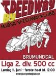 Stevneplakat for Mjøsa Speedwayklubb