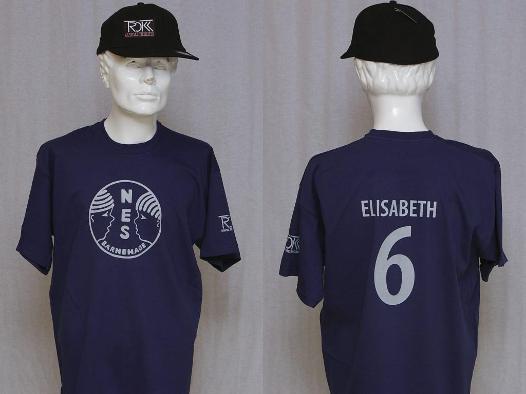 T-skjorte for Nes Barnehage