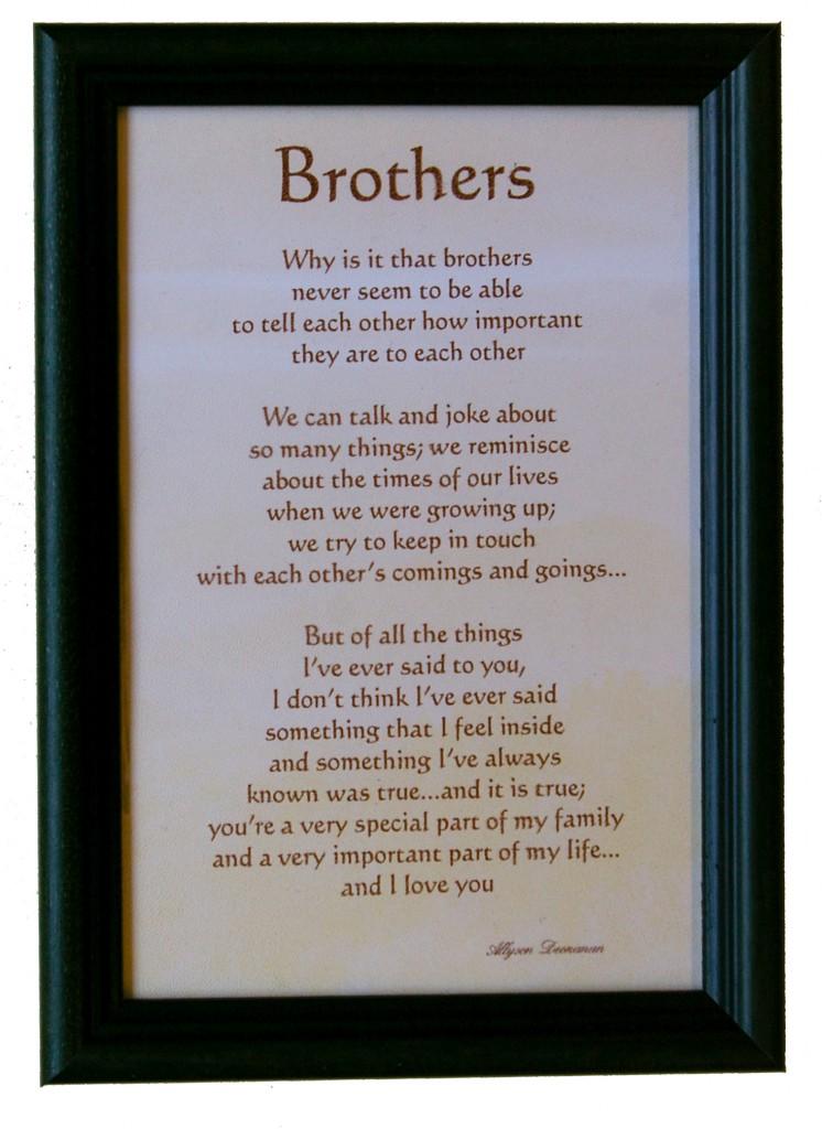 Brothers av Allyson Deonanan
