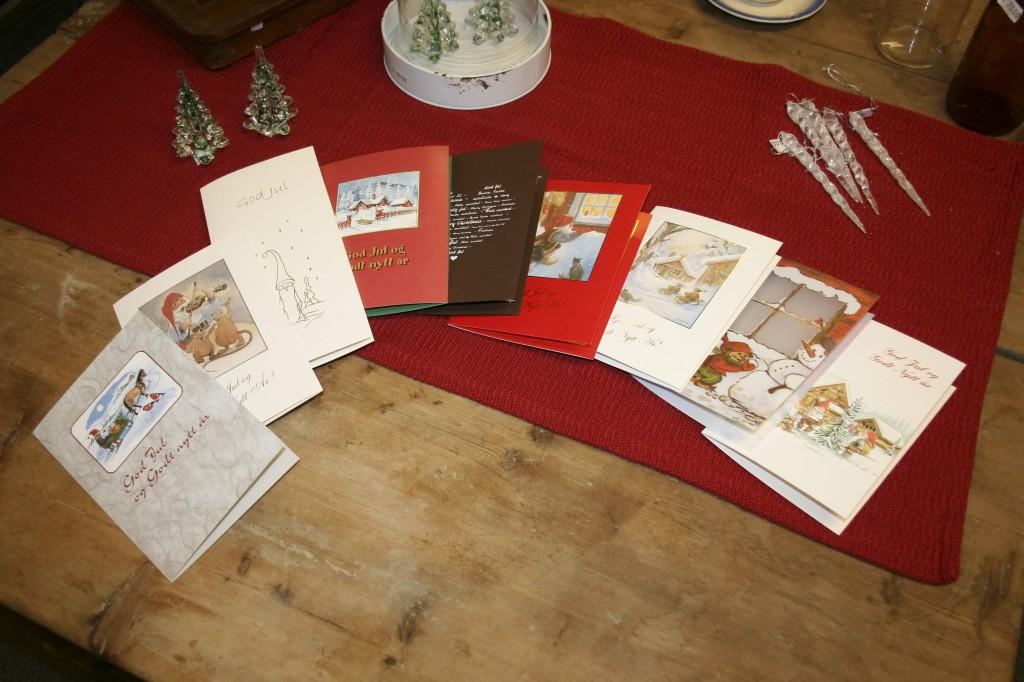 Julekort du får kjøpt hos TRÖKK